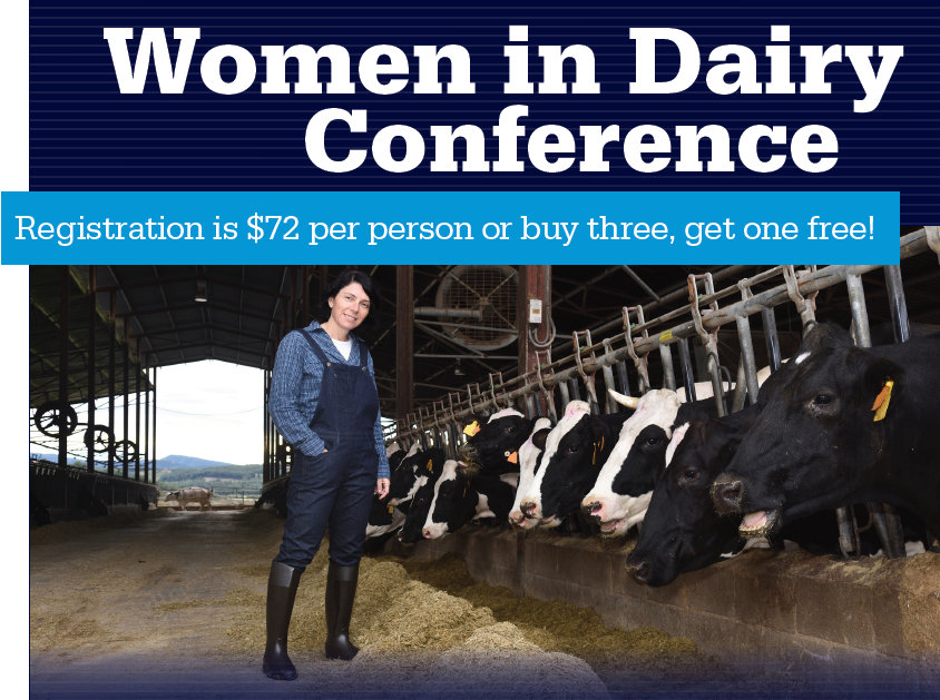 Women in Dairy Conference on Dec. 3
